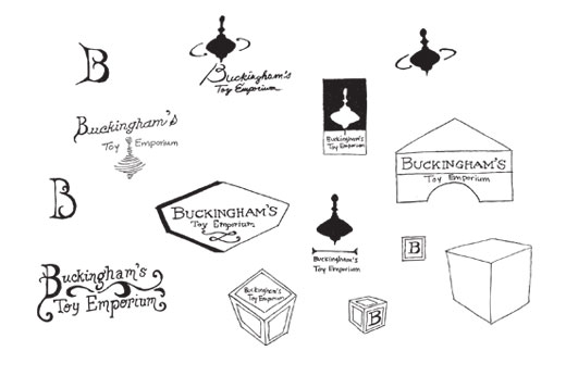 Concept Sketches for Buckingham's Toy Emporium image 4 of 12